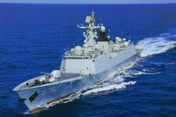 Type 054A Jiangkai-II FFG-576 Daqing