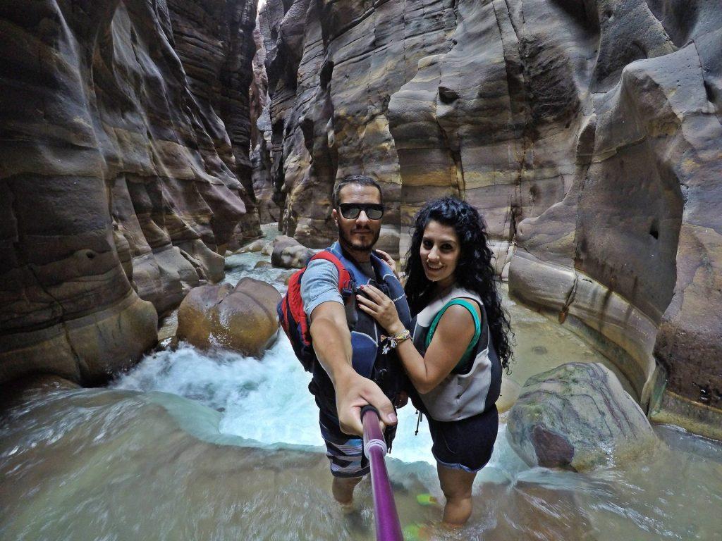 Siq trail en el Wadi Mujib. Que hacer en Jordania