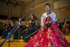 Haegum (Korean 4-string fiddle) player Nam Un Ha, age 25, prepares for her Paris debut   Image via Demotix, click image for gallery