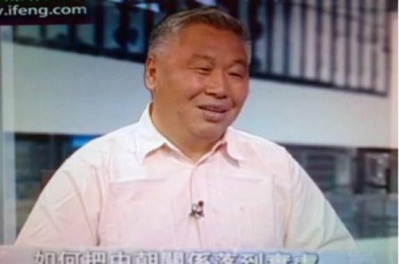 Zhang Liangui (张琏瑰) on Phoenix TV, May 24, 2012