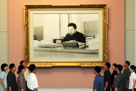 A Renewed Sense of Awe for Kim Jong Il's Accomplishments as a Man of approximately 30 Years of Age | Rodong Sinmun, June 19, 2012