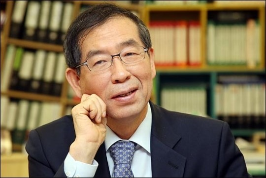 Seoul Mayor Park Won-soon | image via Dailian