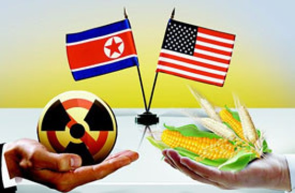 US-DPRK relations are largely defined by the engagement and containment camps. | Image: Huanqiu Shibao
