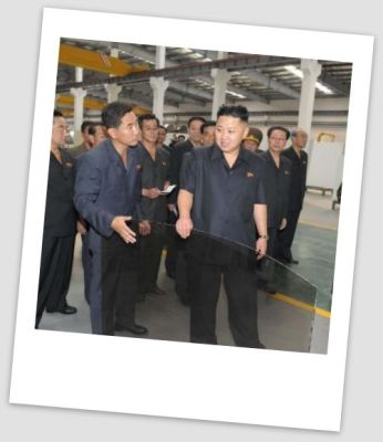 Glass for every home and vehicle | Image: KCNA