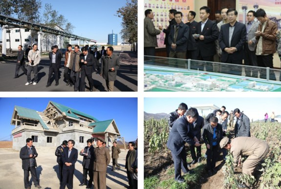 On site visits by Lui Honcai | Images: Rodong Sinmun
