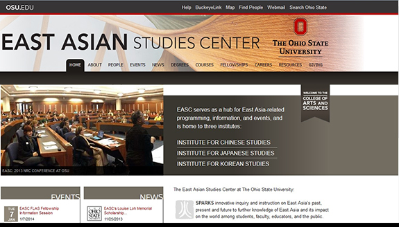 East Asian Studies Center at The Ohio State University