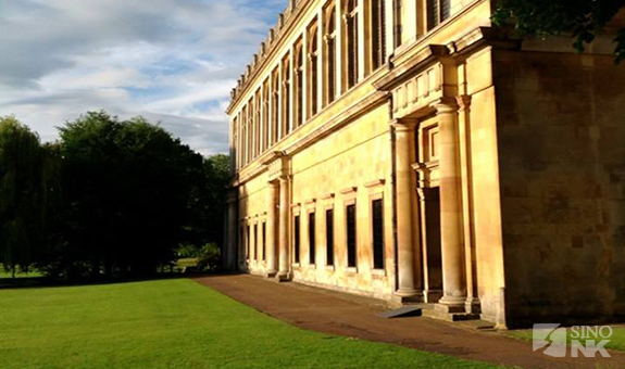 The idyllic Cambridge University | Image: Adam Cathcart/Sino-NK