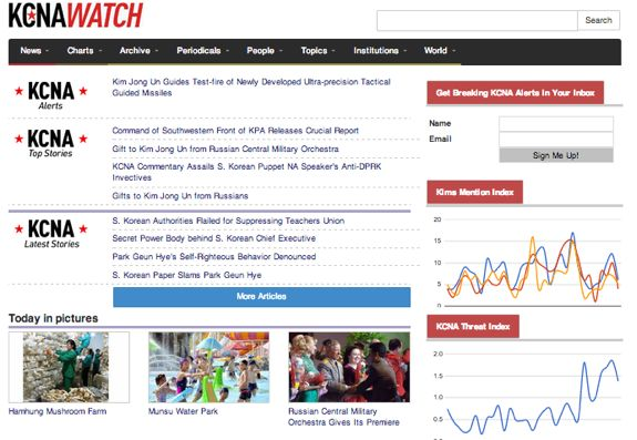 The new-look KCNAWatch is an impressive step forward, but an incomplete one. | Image: KCNAWatch