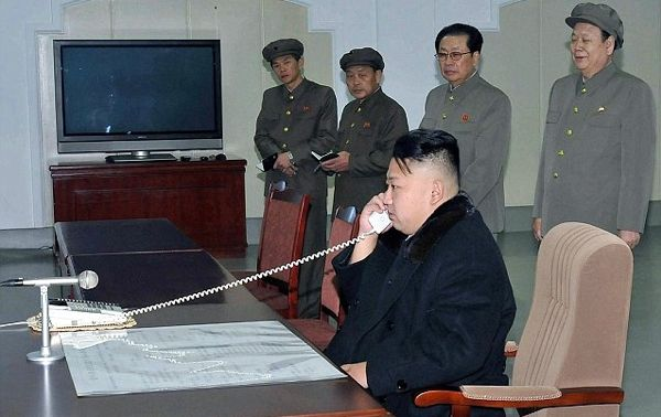 Kim Jong-un, photographed at the time of North Korea's successful satellite launch in December 2012. | Image: KCNA