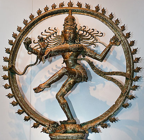 The Hindu god, Shiva,simultaneously represents both creation and destruction. | Image: Michele Ahin/Wikipedia, Creative Commons 2.0