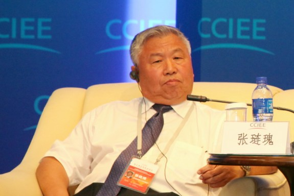 Zhang Lianqui in July 2013; image via Xinhua.