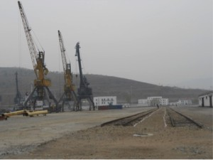 Rajin port's pier no. 2