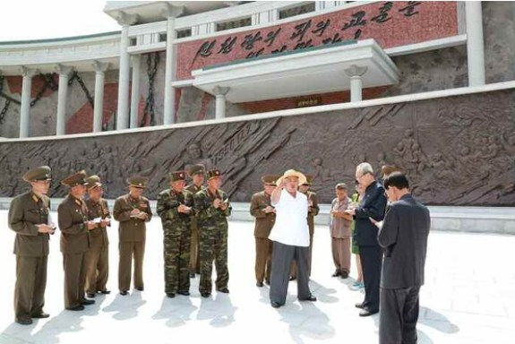 Kim Jong-un and Sinchon3