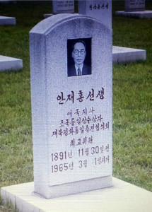 An-Jae-hong_tombstone