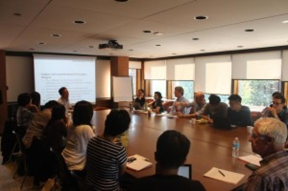 A photo from Professor Park's presentation. | Image: Asian Institute, University of Toronto