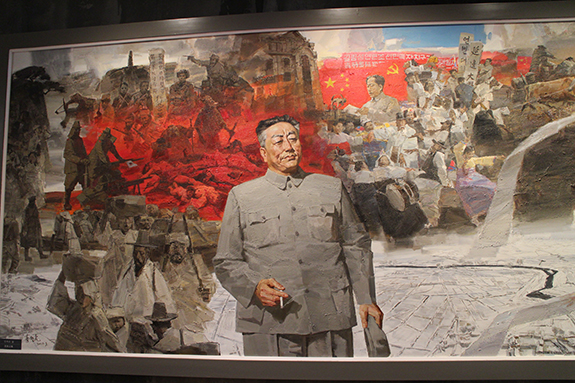 Chu Dok-hae in a Yanbian Museum | Image: Adam Cathcart