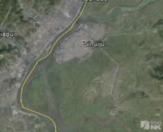 Sinuiju, March 2015 | Image: Google Earth/Sino-NK