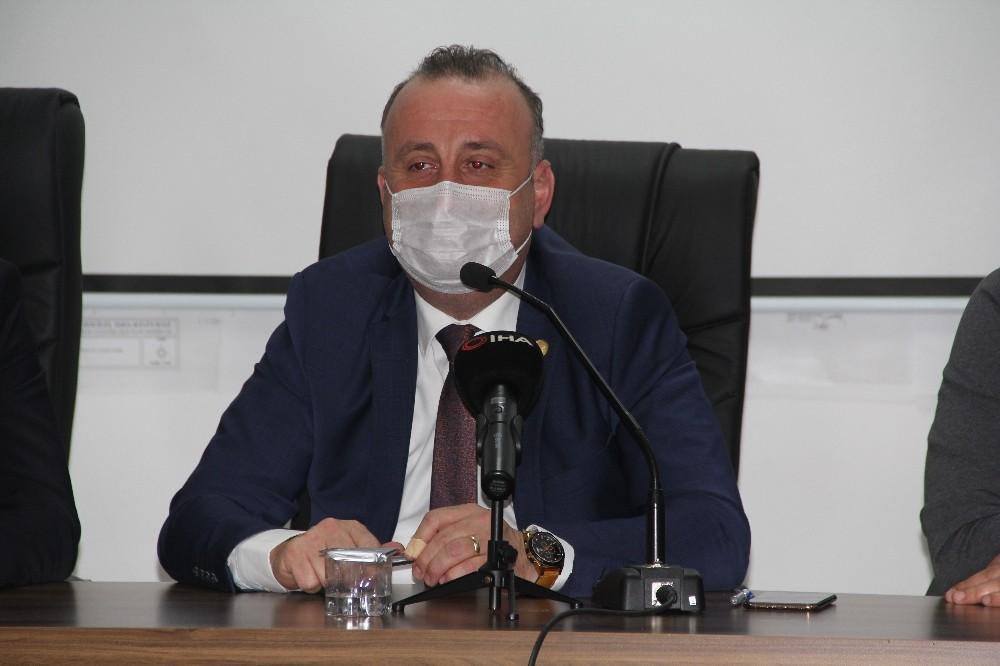 Başkan Ayhan'dan Sinoplulara 'yüksek risk' uyarısı