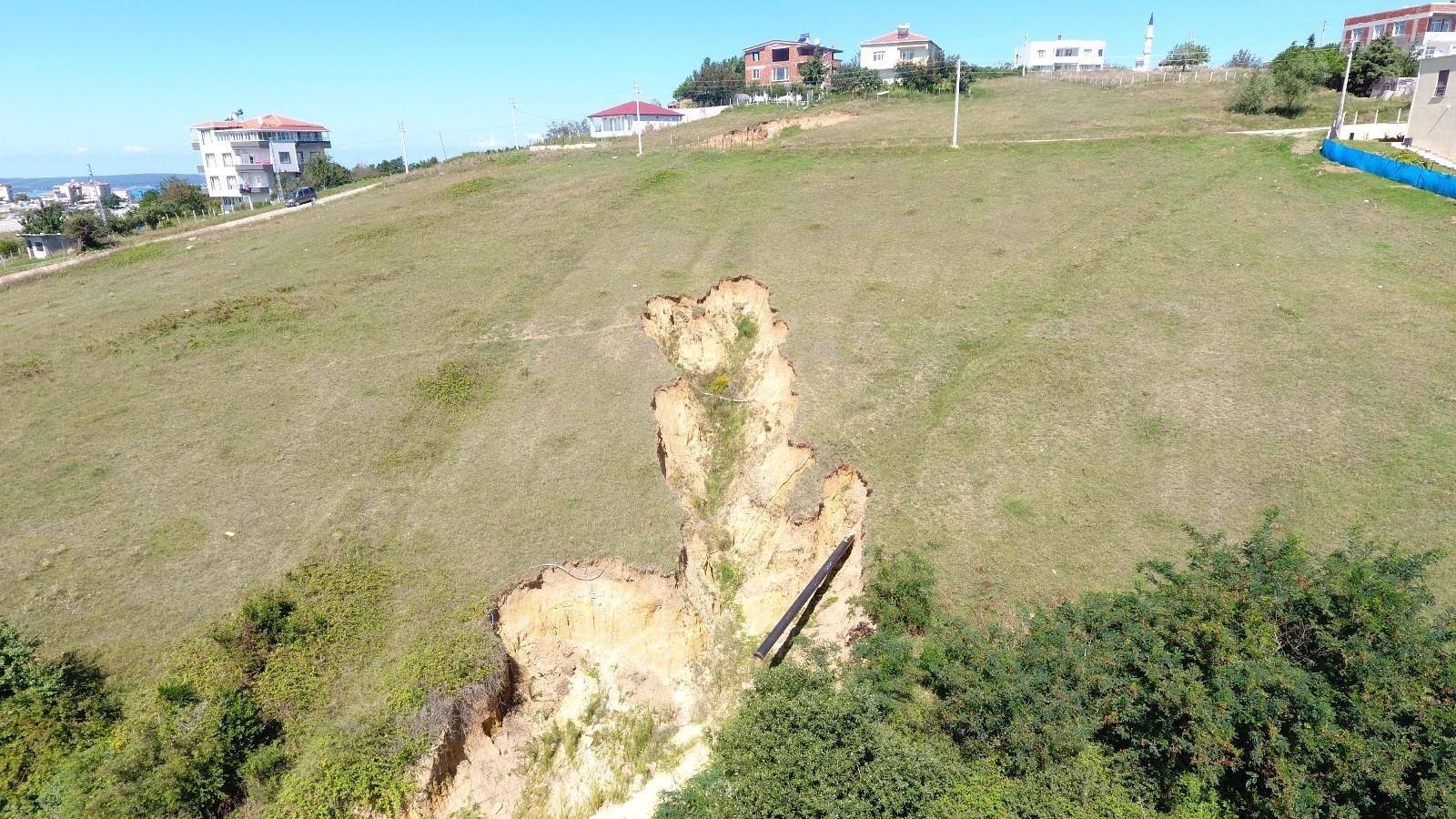 Sinop'ta ürküten görüntü