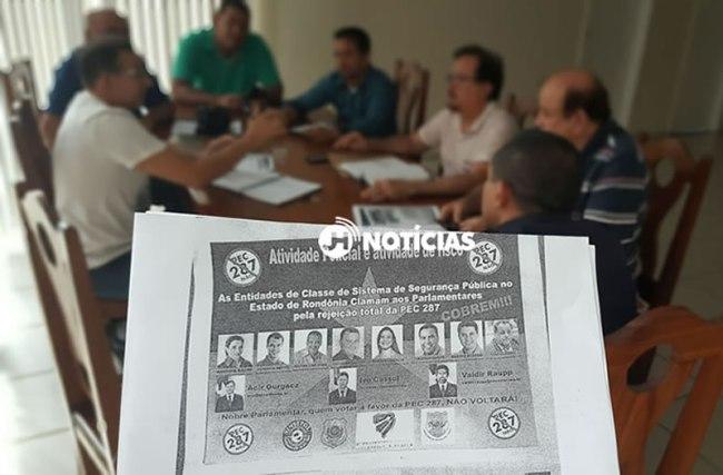 MOBILIZAÇÃO – Sindicatos da Segurança Pública do Estado se unem contra PEC 287