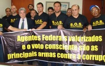 Policias Federais transferem seus títulos para Porto Velho