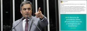 Aécio crítica discurso de Dilma: 'Estelionato eleitoral'