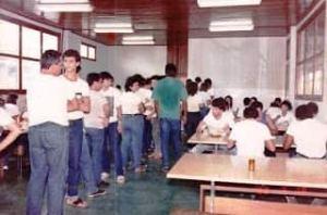 Sala de aula da turma de 1988