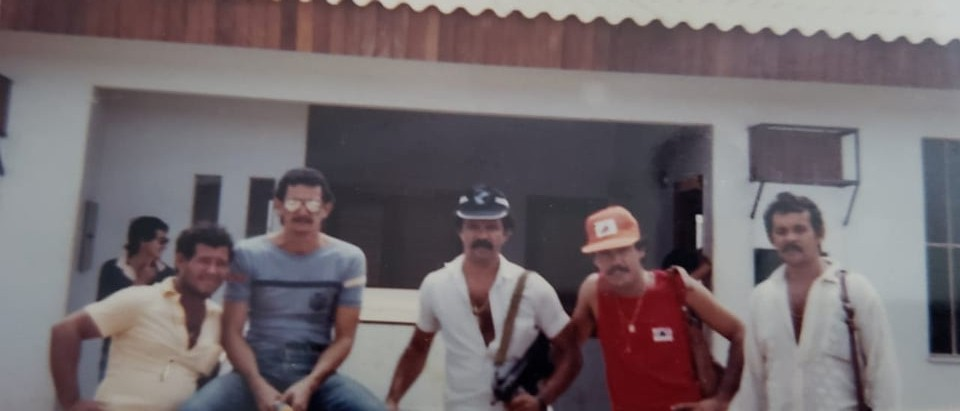 Lucivaldo, Câmara e o falecido Luiz Cabral