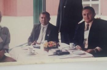 Ex-Diretor Delegado Antonio Felício  e o policial Cícero Evangelista, ex-presidente do Sinsepol