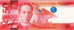 50 Pesos New Generation Currency Banknote Obverse