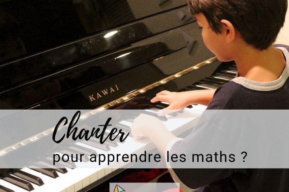 Chanter pour apprendre les maths