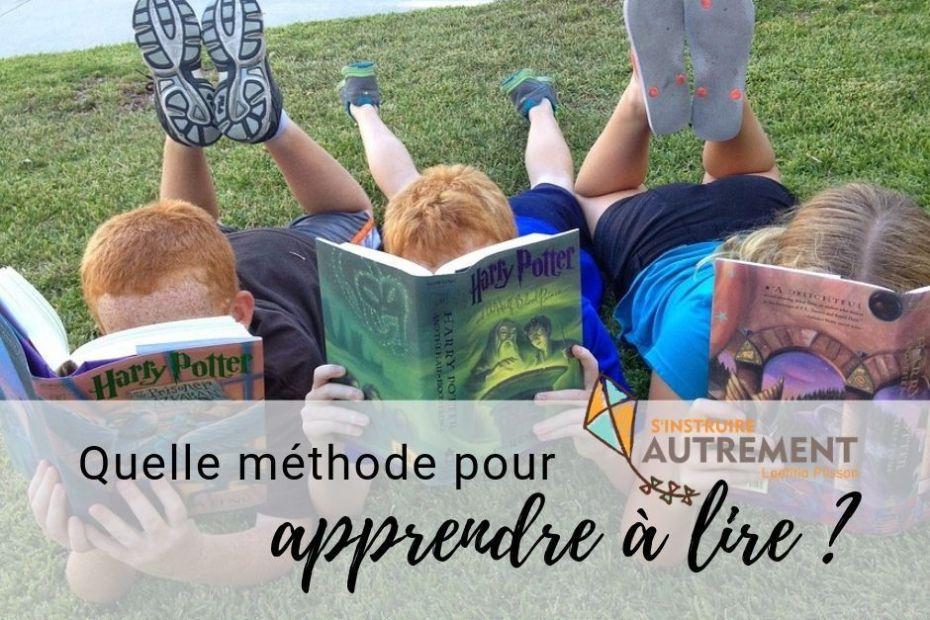 méthode pour apprendre à lire