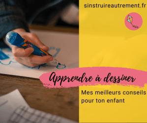 Apprendre à dessiner aux enfants : mes meilleurs conseils