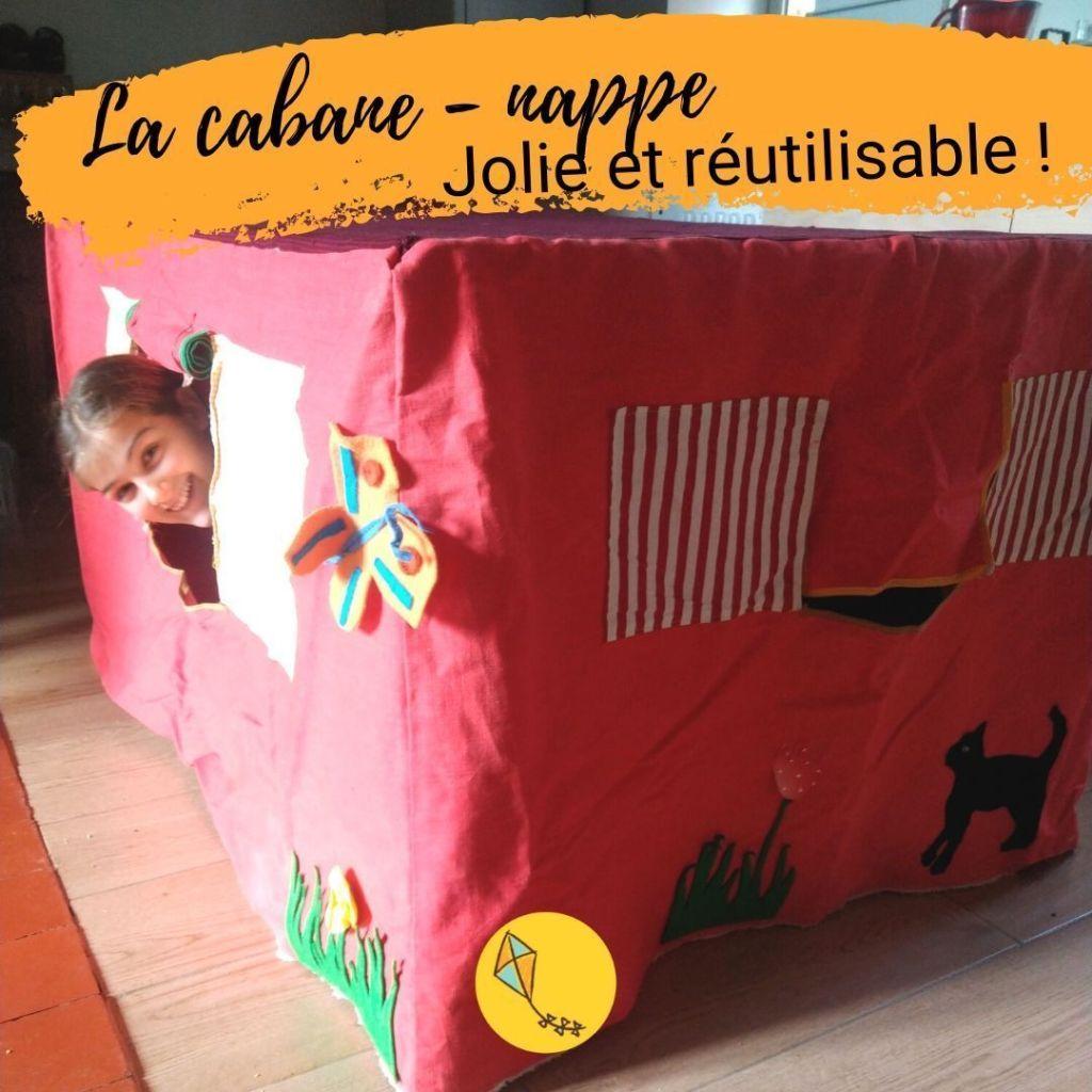 Construire une cabane en tissu adaptée à ta table de salle à manger : un jeu qui plaira à tes enfants pendant longtemps !