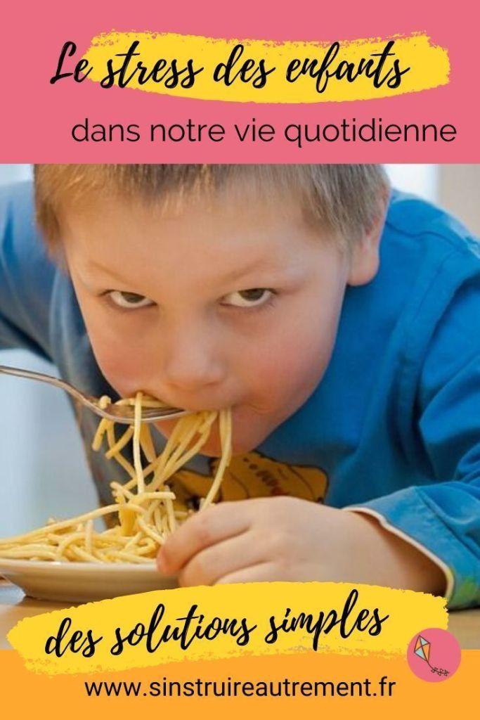 Mange vite, il faut partir ! Un phrase génératrice de stress chez beaucoup d'enfants. Mes solutions naturelles pour aider les enfants stressés à retrouver la sérénité.