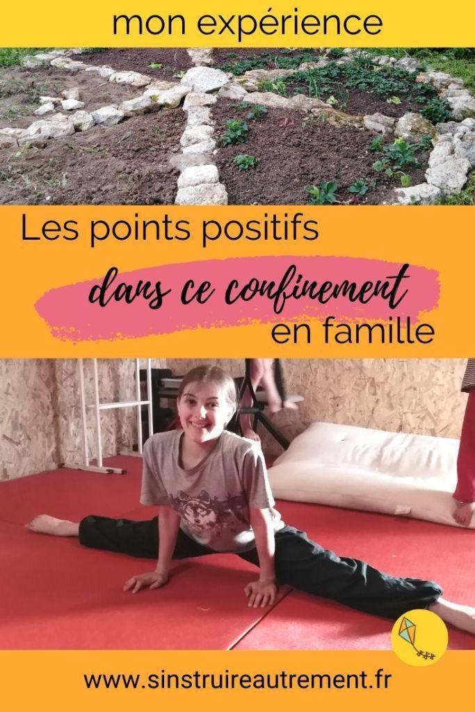 Le confinement en famille a aussi des points positifs ! Je te donne mon point de vue dans cet article, et mon expérience avec mes 4 enfants