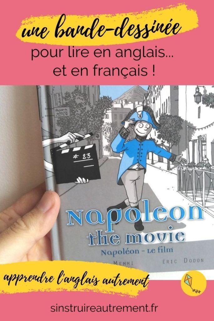 une petite BD pour apprendre à lire en anglais et en français, pour les enfants dès 8 ans