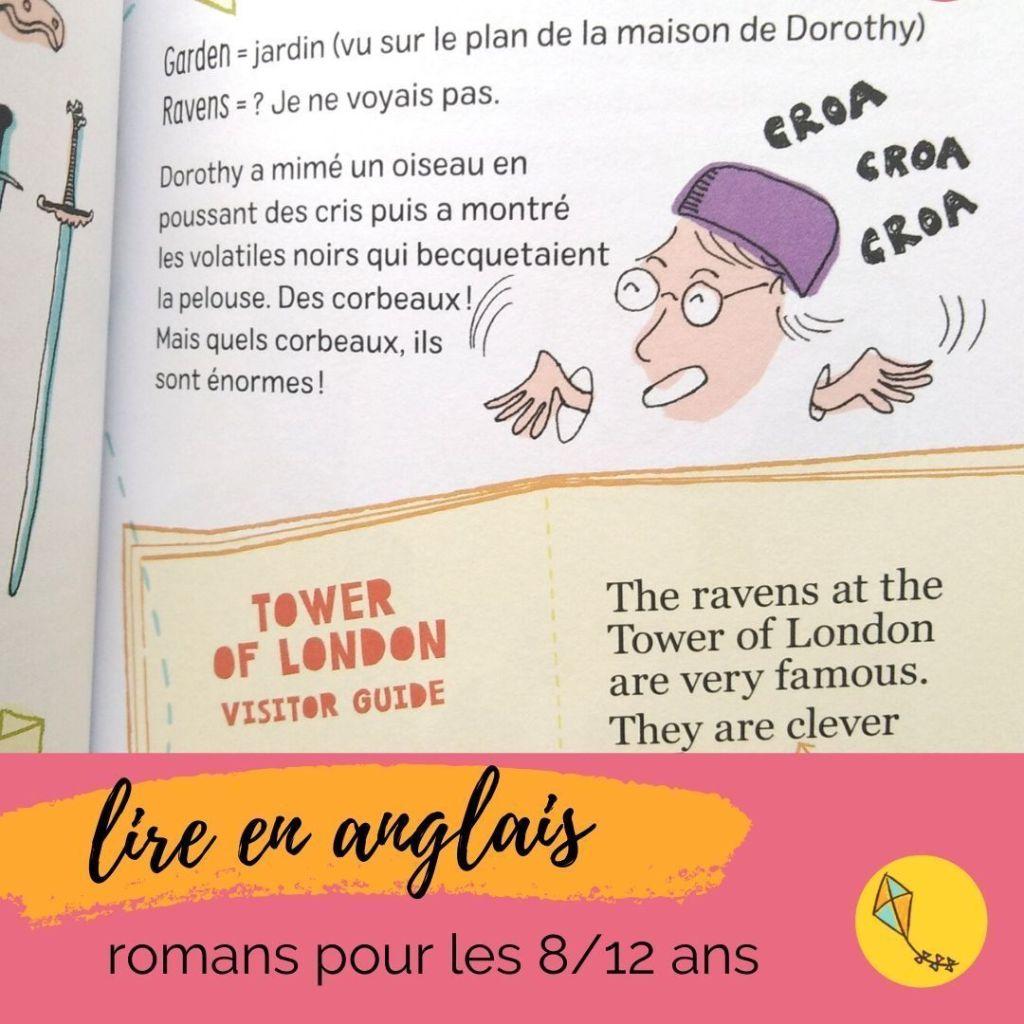 roman en anglais pour les enfants de 8/12 ans. Apprendre l'anglais en s'amusant.