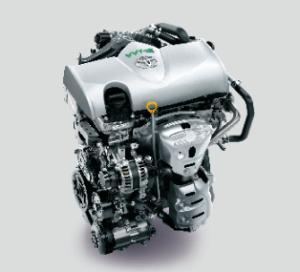 トヨタヴィッツのエンジン