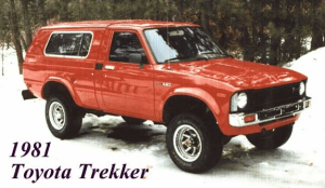 ウィネヴェーゴ・トレッカー(1981~1983)