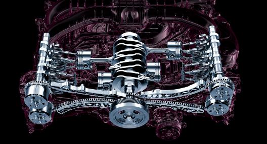 """レヴォーグ2.0L""""DIT″新型エンジン"""