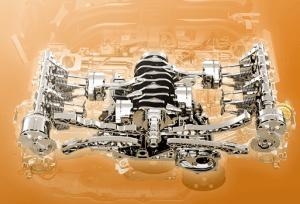 スバルエクシーガクロスオーバー7のエンジン