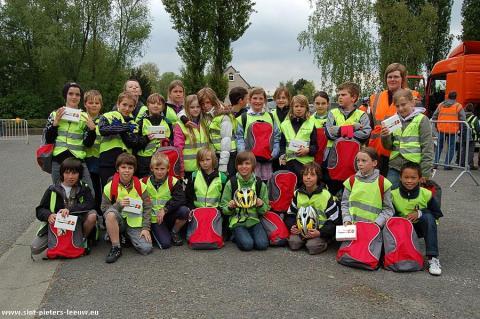 5A Ave-Mariaschool wint 7de levend verkeerspark van Sint-Pieters-Leeuw