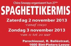 2013-11-02-flyer-spaghettikermis-chiro-snoopy