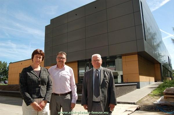 Nadine Thysens, Marc Paesmans en Roger Desmeth