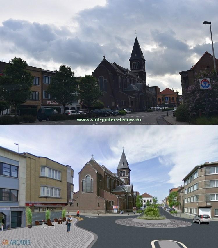 2016-06-30-centrum_kerk_Ruisbroek_nu_en_toekomst