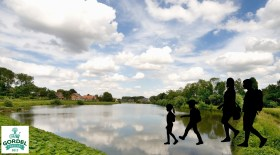 De Watertocht - lopen op het water (Large)