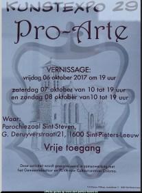 2017-10-08-affiche-TT-kunstexpo29_Pro-Arte