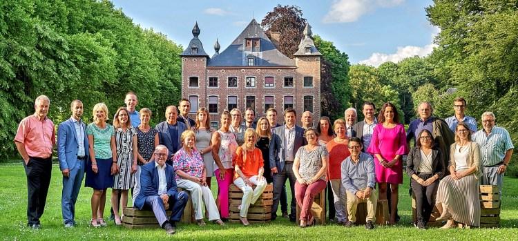 2018-06-06-Groepsfoto_kandidatenlijst_CD&V_Sint-Pieters-Leeuw_gemeenteraadsverkiezingen_2018