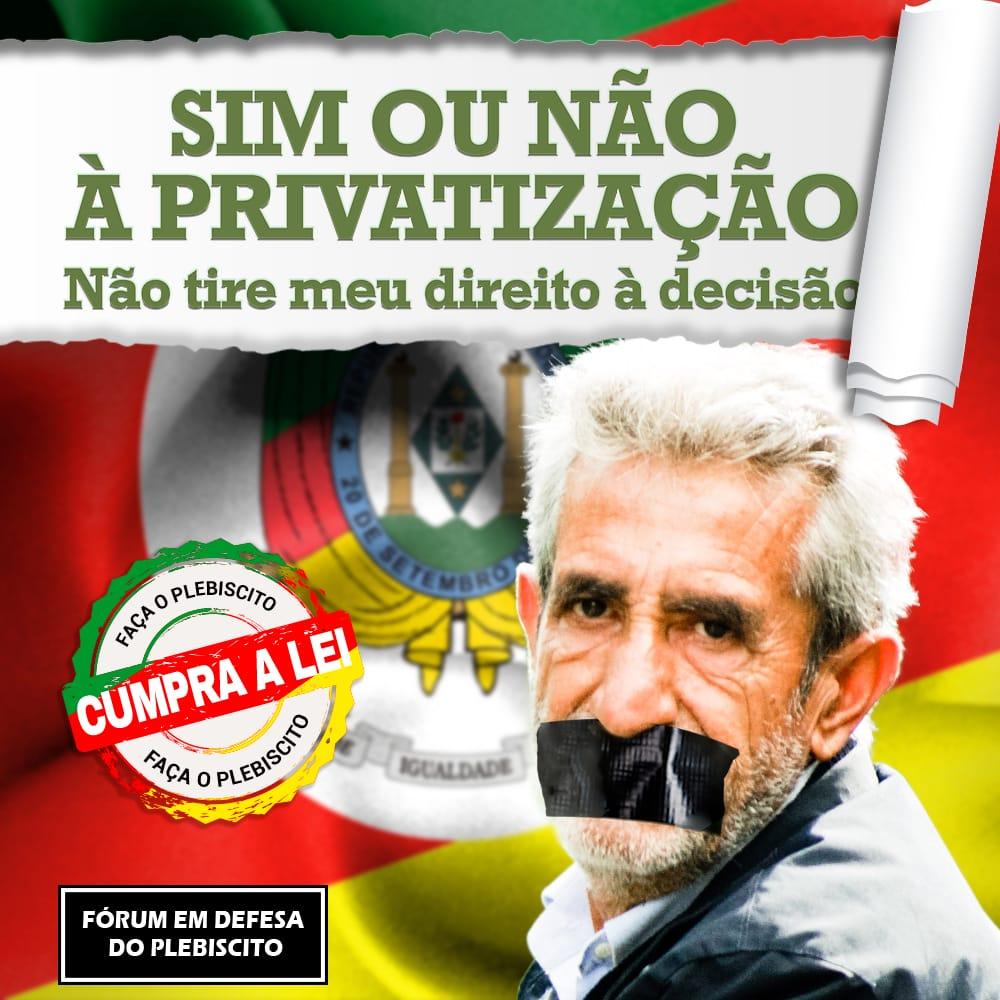 Participe Da Coleta De Assinaturas Em Defesa Do Plebiscito